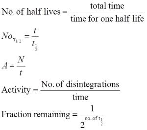 half-life-formula