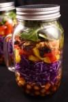 Asian-Inspired Mason Jar Salad