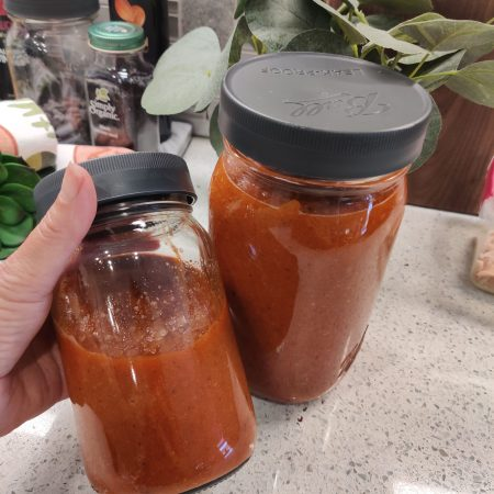 Roasted Red Pepper and Garlic Marinara Sauce