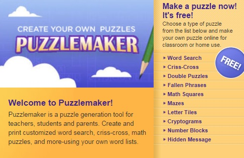 create your own puzzles