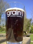 Image of a pint of bitter from the Grain brewery