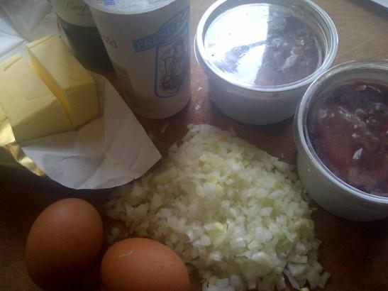 Image of pate ingredients