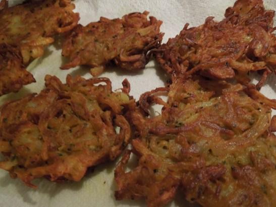 The Bhaji Man's onion bhajis