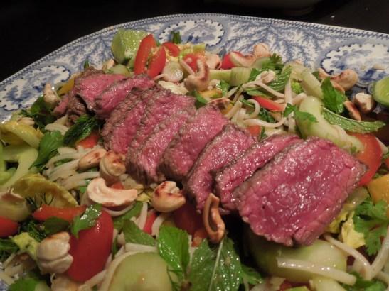 Image of salad on a platter