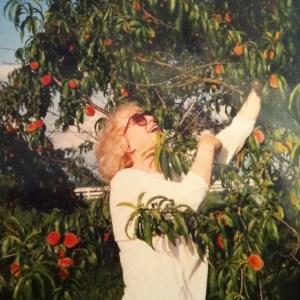 Image of Sheila in her garden