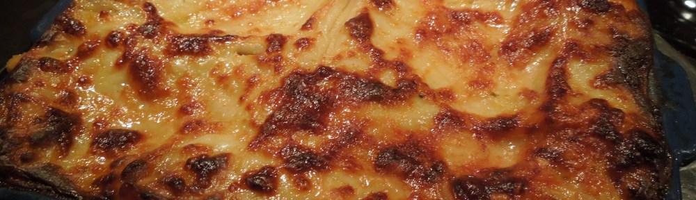Image of roasted vegetable lasagne