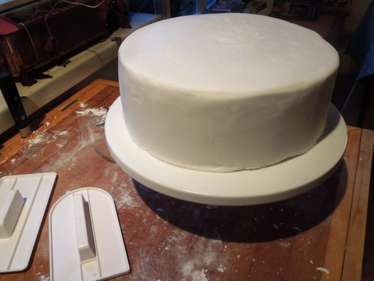 Image of iced cake