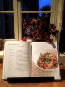 Image of book open at recipe page