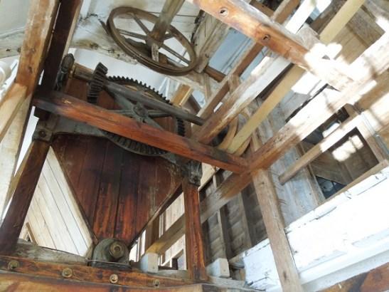 Image of the wheelhouse roof