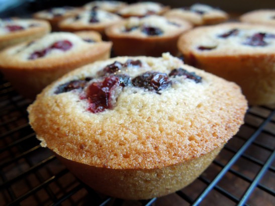 Image of friands, baked
