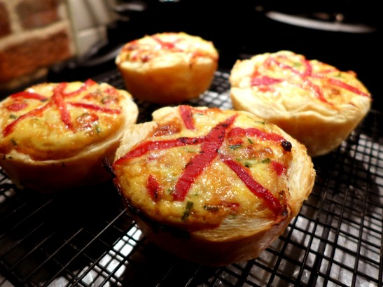 Image of tarts cooling on a rack