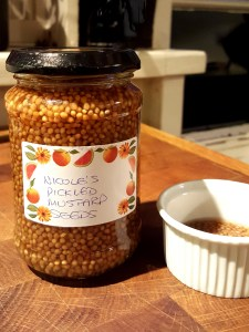 Image of Nicole's pickled mustard seeds