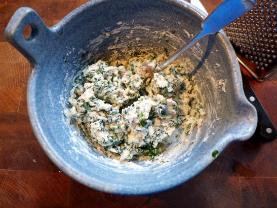 Image of spinach and ricotta filling