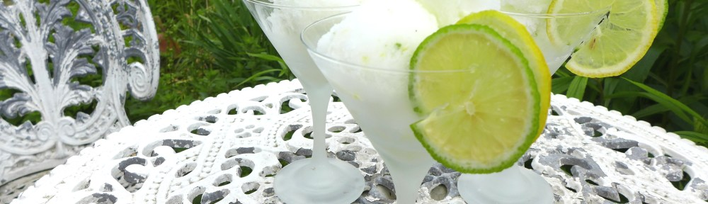 Image of gin and tonic sorbets