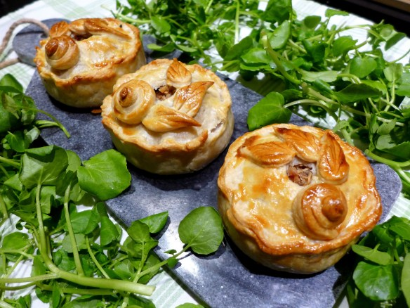 Image of Turkey, Ham and Cranberry Raised Pies