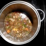 Image of simmering stock