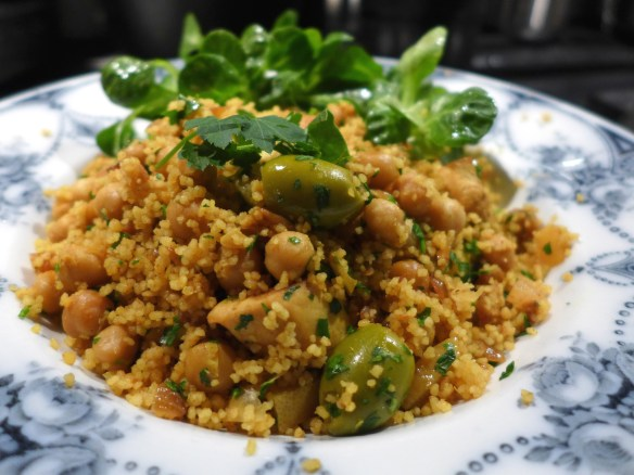 Image of One-pot Lemon Chicken Couscous, served