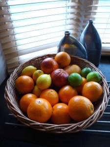 Image of citrus fruit basket