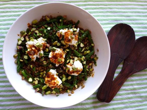 Image of Asparagus and Freekeh Salad