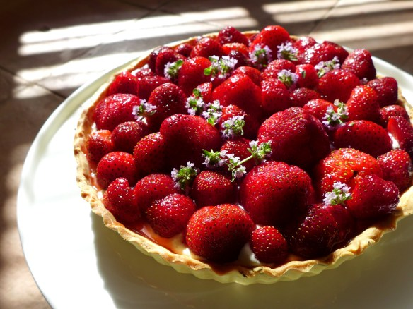 Image of strawberry tart