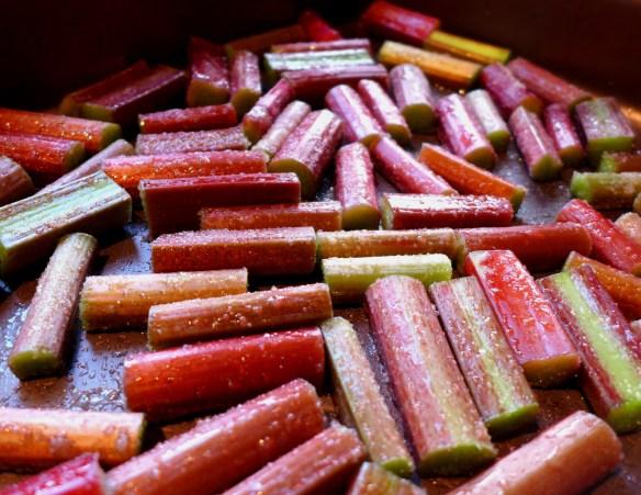 Image of sugared rhubarb