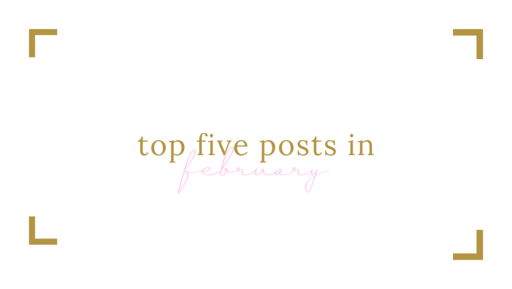 Top 5 Posts in February 2021