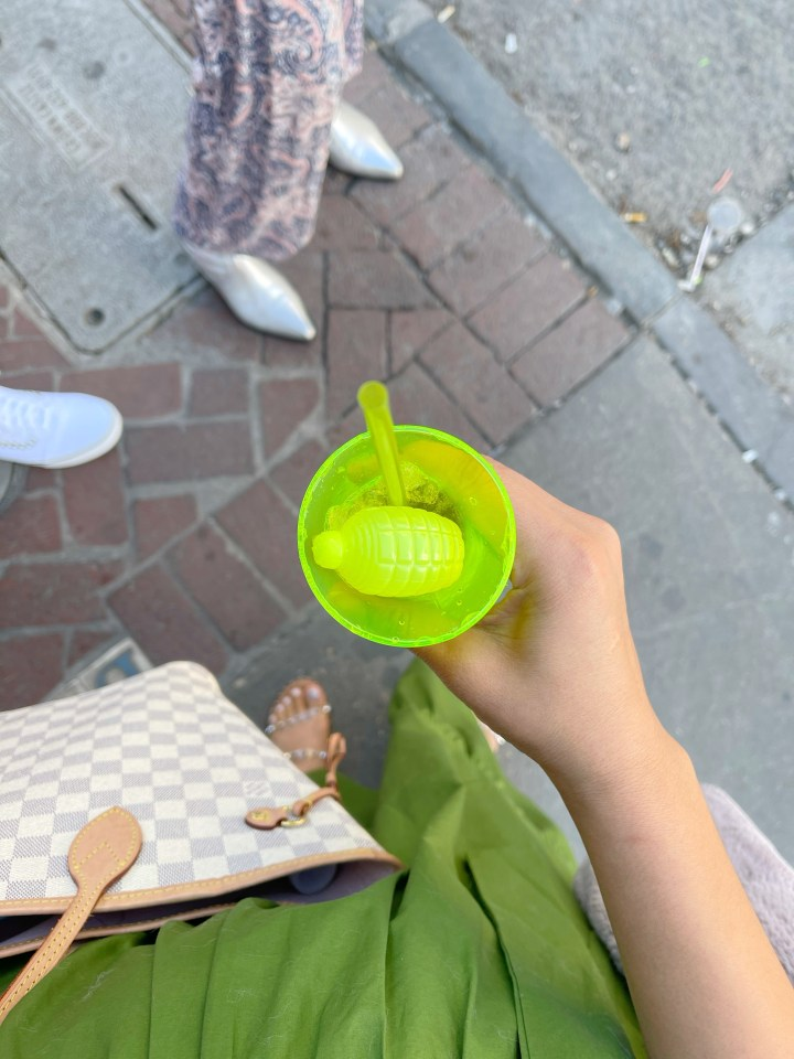 NOLA hand grenade