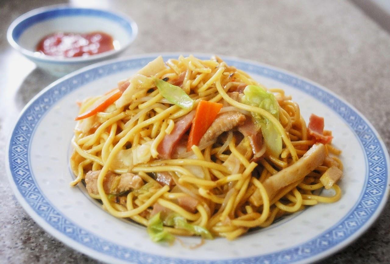 雜錦炒麵Free-style Stir-fried Noodles | Mrs P's Kitchen