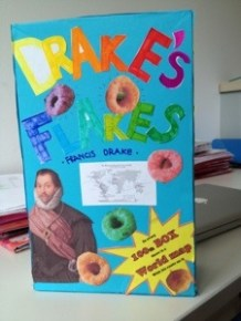 Drake's Flakes, even though they are O's.
