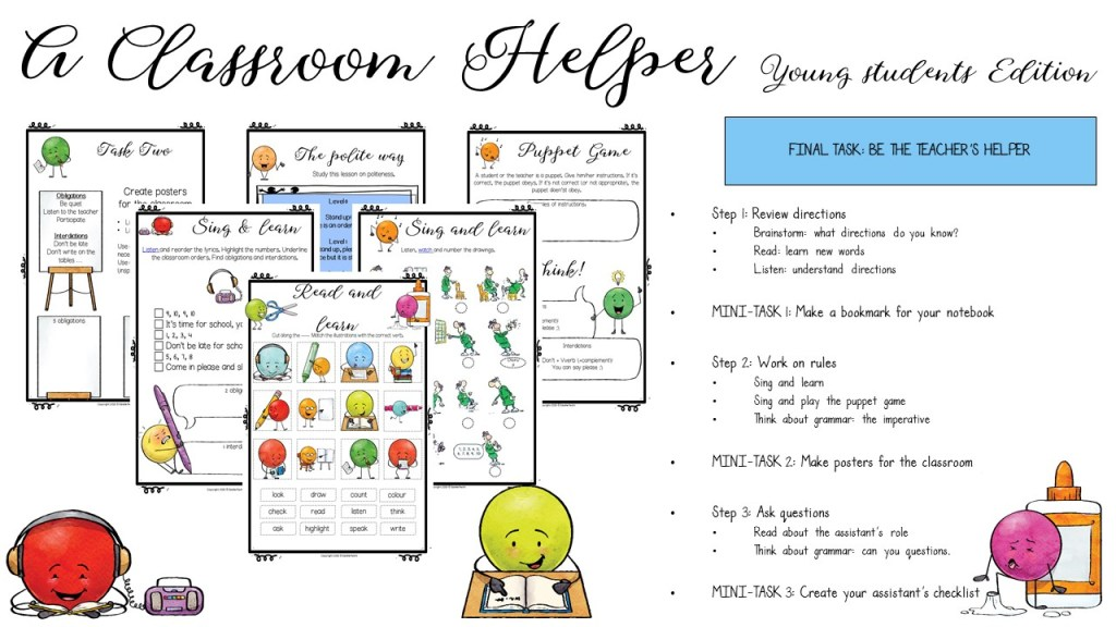 Séquence Classroom Helper 6e