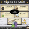 Décoration Harry Potter Etiquettes FR