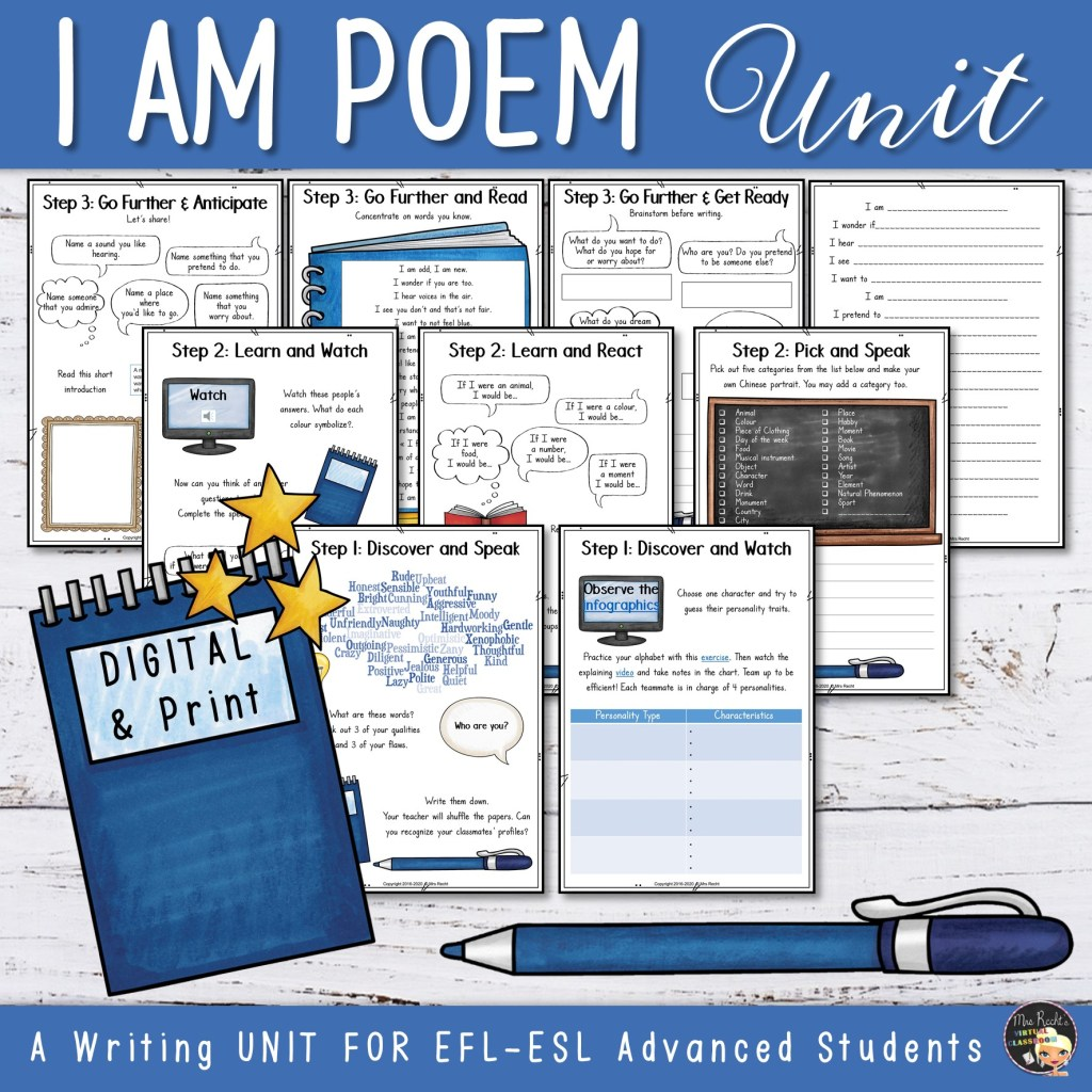 Séquence I am poem 3e