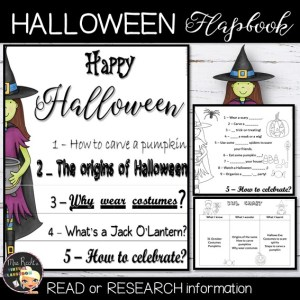 Halloween Activities – Research Flapbook