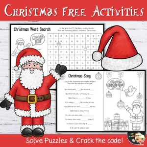 Christmas Activities Free Booklet