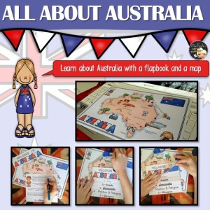 Australia Flapbook and Map