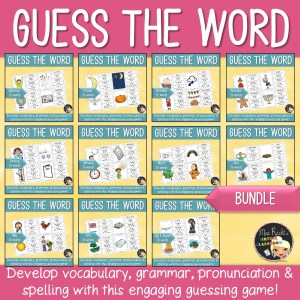 Bell Ringers Months Words Bundle