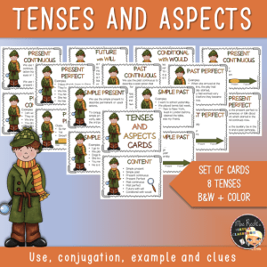 Tenses and Aspects Flashcards
