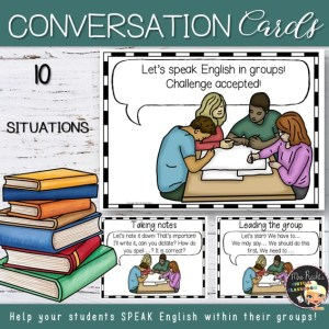 Group Work Conversation Cards