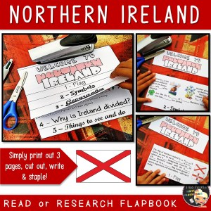 Northern Ireland Flapbook