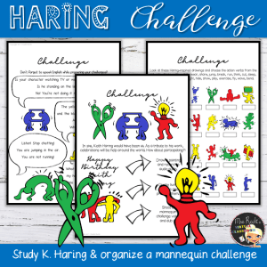 Keith Haring Mannequin Challenge Unit