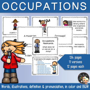 Occupations and Careers Flashcards