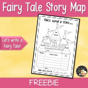 Fairy Tales Story Map Freebie