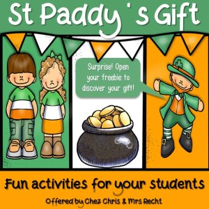 St Patrick's Day Activities Freebie