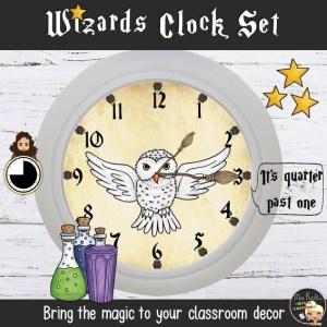 Décoration Harry Potter Horloge