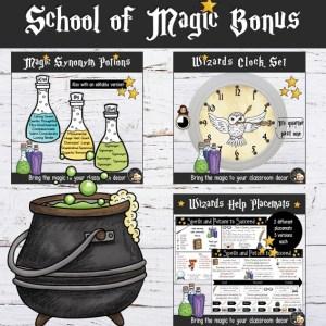 Décoration Harry Potter Décor Bonus