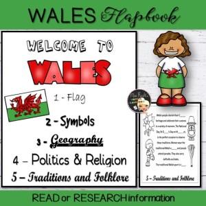 Wales Flapbook