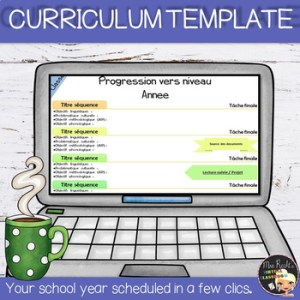 Editable Curriculum Template Freebie