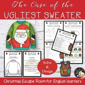 Ugly Christmas Sweater Escape Game