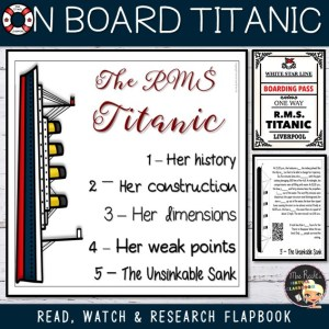 Flapbook Titanic