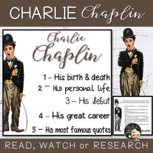 Charlie Chaplin Flapbook